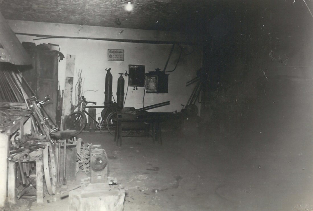 Erster Firmensitz in Arzl